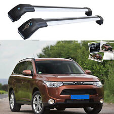 Brand New Cross Bar Roof Rack For Mitsubishi Outlander 2013 - 2018 To Flush Rail