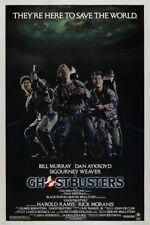 dan AYKROYD bill MURRAY harold RAMIS 1984 GHOSTBUSTERS movie poster 24X36