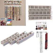 9pc Jewelry Earring Organizer Hanging Holder Necklace Display Stand Rack Hook BT