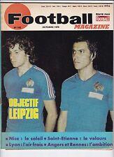 1975 football magazine n°192 HIDALGO MALAKOFF R.D.A LYON SANCHEZ ROCHETEAU ANGER
