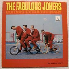 "(LP) The Fabulous Jokers - ""Guitars Extraordinary"" - Rock & Roll / Beat (1966)"