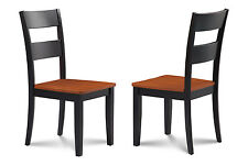 M&D Furniture Set Of 2 Kitchen Dining Side Chair W/. Wooden Seat