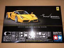 Tamiya 24301 1/24 Enzo Ferrari Yellow Version Model Kit