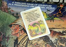 WADDINGTONS LOST VALLEY OF THE DINOSAURS SPARE ADVENTURE CARD BOARDGAME CARDS