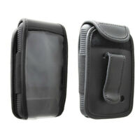 caseroxx Leather-Case with belt clip for Dexcom G6    in black made of genuine l