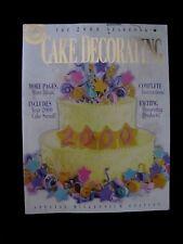 Wilton 2000 Yearbook CAKE DECORATING Millenium Edition biggest yet cake ideas