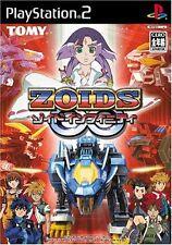 USED Zoids Infinity Fuzors japan import PS2