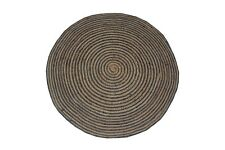 Indian Hand loom Braided Round Rugs Handmade Home Decoration Natural jute 4x4-6