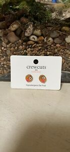 J. Crew Crewcuts Glitter Emoji Kids Earrings~New