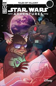 Star Wars Adventures #6, B Fico Ossio Cover, Presale, 07/07/2021