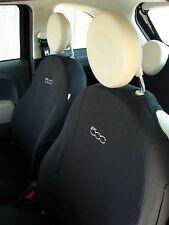 Fodere su Misura Fiat 500 | Set Completo Bianco Ecrù 20 | Coprisedili Fiat 500