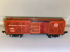 American Flyer 629 Link Coupler  Missouri Pacific Cattle Car