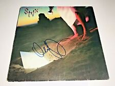 Dennis Deyoung Rare Autographed Signed Styx Vinyl Record Cover Free Shipping