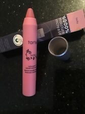 TARTE LIPSURGENCE LIP STAIN NATURAL MATTE IN LUCKY New in box .10 oz light pink