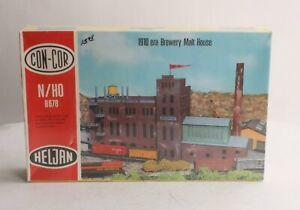 Con-Cor B678 HO 1910 Era Brewery Malt House Kit LN/Box