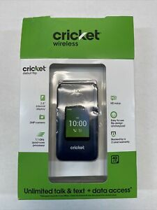 Cricket Prepaid Debut Flip (4GB) - Black OPEN BOX
