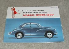 Morris Minor 1000 Brochure 1960 - Saloon & Traveller