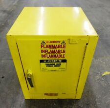 "JUSTRITE FLAMMABLE LIQUID STORAGE CABINET 25042, 4 GAL., 22"" H., 17"" W. X 17"" D"