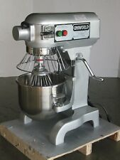 10 Quart Dough Mixer w/ Guard inc. Bowl, Flat Beater, Wire Whip & Dough Hook