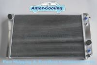 2Row Aluminum Radiator For 1984-1990 Chevrolet Corvette 5.7L V8