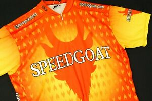Speedgoat Cycling Jersey Louis Garneau Bright Orange High Visibility