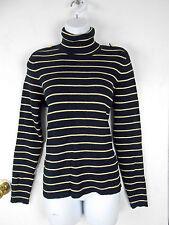 Cotton Blend Medium Knit Turtleneck, Mock Jumpers & Cardigans for Women