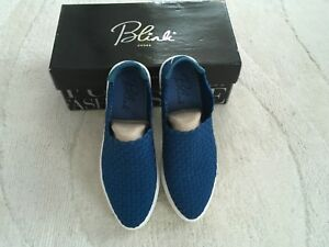 Women's Blink Woven Blue Sneakers Size 3