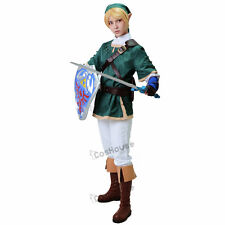 Link Cosplay Costume The Legend of Zelda Link Cosplay Outfit Hat Gloves included