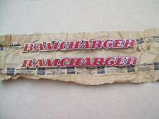 NOS MoPar 1974 - 1980 Dodge Faro RAMCHARGER EMBLEM pair 3739984
