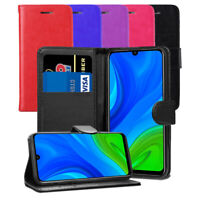 For Huawei P Smart 2020 Case - Leather Wallet Flip Case Folio Magnetic Cover