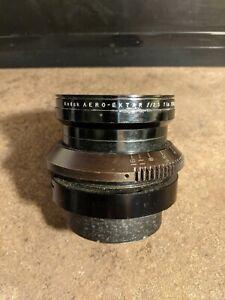 Vintage Kodak Aero-Ektar F2.5 Lens