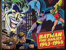 BATMAN: THE DAILIES 1943-1944 - 1990 1st Printing, Trade PB