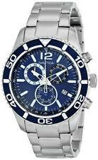 Nautica Men's NST 09 Blue Dial Stainless Steel Watch N16665G