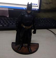 """6""""  Mattel DC The Dark Knight Movie Masters BATMAN BEGINS Figure W/ Brown Stand"""