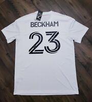 adidas David Beckham Inter Miami CF 2020 Primary Jersey  White Size 3XL $100