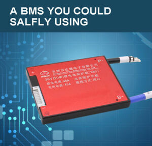 10S 36V 42V PCB BMS Board 15A/20A/30A/40A/50A/60A W/ Balance Li-ion Waterproof