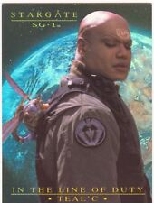 Stargate SG1 Season 7 In The Line Of Duty Tealc Chase Card T3