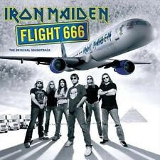 Iron Maiden Flight 666 The Original Soundtrack Live 2 X CD 2009 &