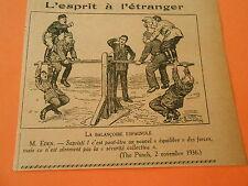 La Balancoire Espagnole Humour Print 1938