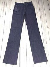 BNWT Ladies Armani High Waist Straight Leg Regular Jeans J75 Indigo 008 Size 26