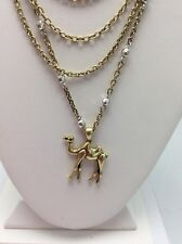 $34.50 Lucky Brand Camel Chain Necklace Two Tone. #L98