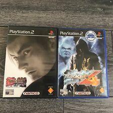 Tekken PS2 PlayStation 2 PAL Game Bundle Tekken Tag Tournament & Tekken 4