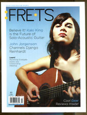 Frets-First Issue-2004-Kaki King Cover Story and Rear Cover Ad-John Jorgenson