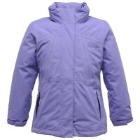 Regatta Beatrix Girls Waterproof Windproof Padded Insulated Jacket Purple