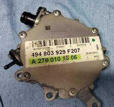 12-19 Mercedes C300 3.5L V6 OEM Cylinder Head Vacuum Pump A2762300065