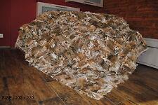 Pelzdecke Bobcat , Felldecke, Tagesdecke, Fell Pelz , Blanket fur /bedspread