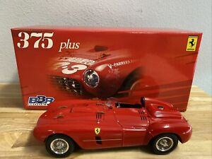 1/18 BBR Ferrari 375 Plus Rosso Corsa Street Version Diecast Used