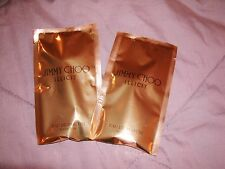 "Set Of 2 Jimmy Choo ""ILLICIT"" Samples New Sealed In Packs 0.06 Travel/Sample"