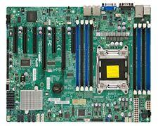Supermicro LGA2011/Intel C602/DDR3/SATA3/V&2GbE/ATX Server Motherboard, Retail