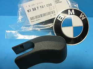 Genuine BMW Cover for Rear Wiper Arm Nut OEM# 61627161030 X3 X5